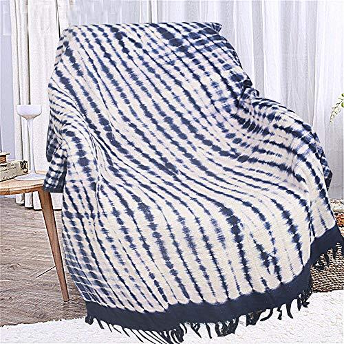 Gooi deken - puur katoen zachte gooit comfortabele Indiase gooit vintage stijl blad en bloem patroon quilts traditionele bank gooit en spreien voor stoelen bank
