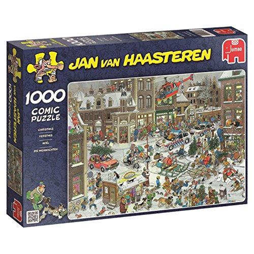 Jumbo 13007 - Jan van Haasteringen - Kerstmis - 1000 delen