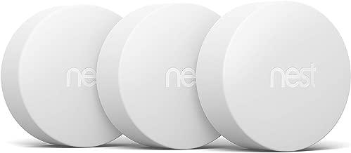 Google, T5001SF, Nest Temperature Sensor, White, 3 Pack