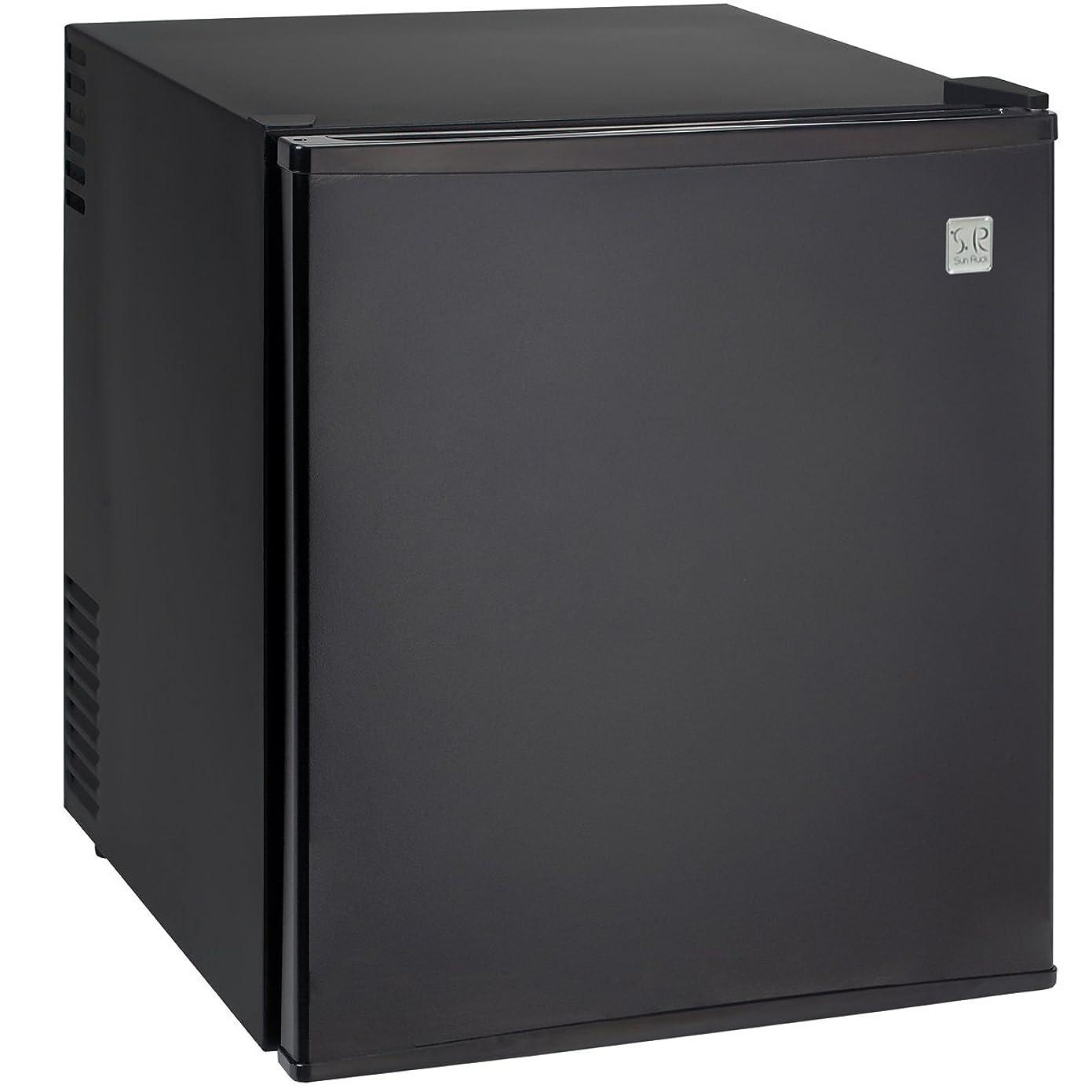 超越するブランド折るSun Ruck (サンルック) 冷庫さん 冷蔵庫 小型 48L 霜取り不要 ペルチェ方式 1ドア 右開き ブラック