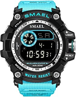 Men's outdoor waterproof and shockproof sports watch Double Electronic Quartz Movement Watches for man Luminous display