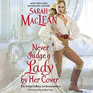 Never Judge a Lady by Her Cover audiobook cover art