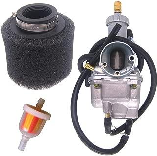 Amhousejoy Carburetor 15003-1080 for Kawasaki Bayou 220 KLF220A KLF220 KLF 220A 1988-1998 ATV Quad Carb with Air Filter Fuel Filter