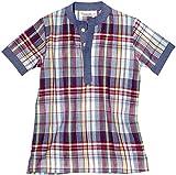 Masala Boys' Baby Tabla Tunic (Toddler/Kid) - Multi Check Red - 10