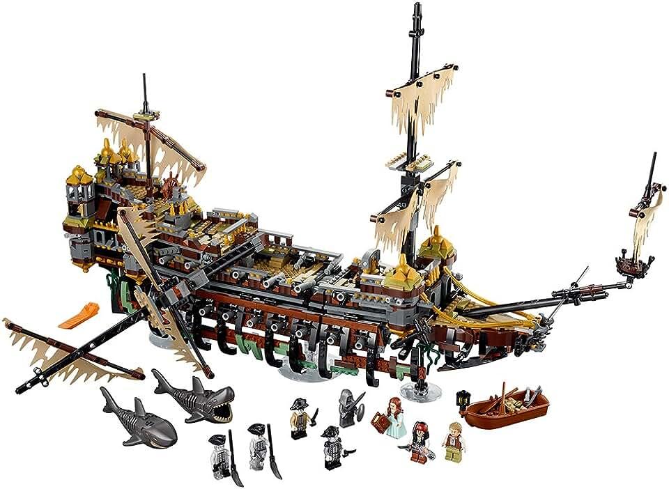 Лего наборы пираты карибского моря картинки