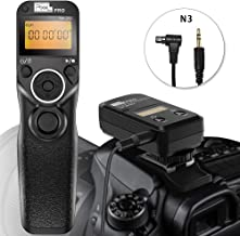 Pixel TW-283 N3 Wireless Shutter Release Cable Timer Remote Control Cord for Canon EOS-1D X Mark II, 1D X, 1D, 1Ds Mark III, 1D Mark III, 5D