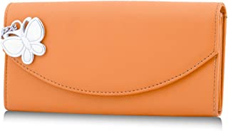 Butterflies Orange Wallet (BNS 2279)