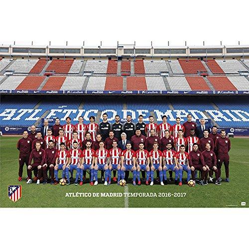 Grupo Erik Editores Poster Atletico De Madrid 2016/2017 Plantilla