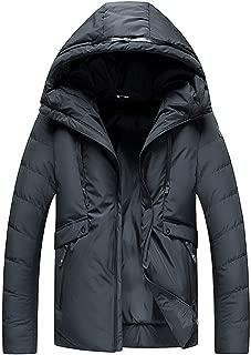 Ymout Men's Hooded Warm Snow Coat Windbreaker Winter Outdoor Snowboarding Jacket
