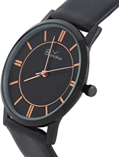 Charisma Casual Watch for MenLeather B and, Analog, C7033