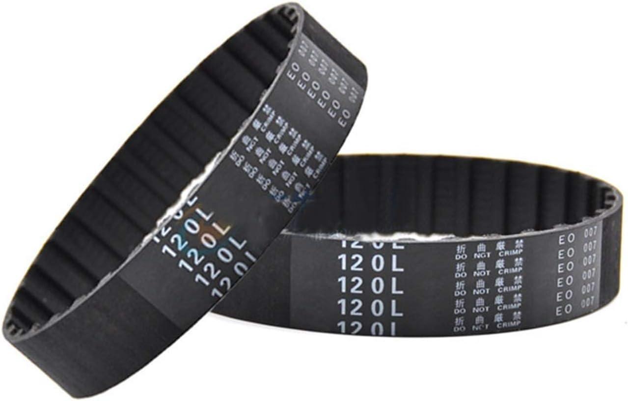 SHENYI Professional Washington Mall 1Pcs 550L-619L security Timing Black Rubber Clos Belt