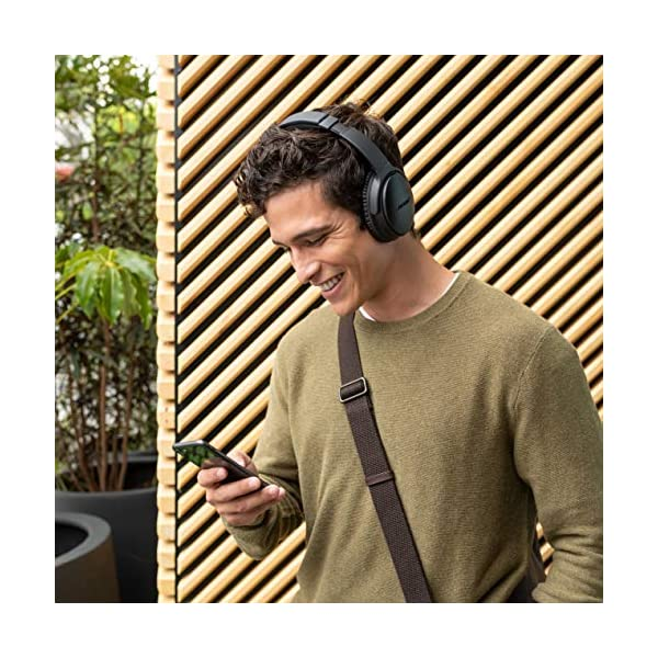 Sweater boy bose quietcomfort 35 ii wireless bluetooth headphones, noise-cancelling, with alexa voice control – black