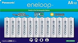 Panasonic 松下 eneloop系列 AA2100次充电 Ni-MH循环充电电池 (BK-3MCCA12SA) 12节装