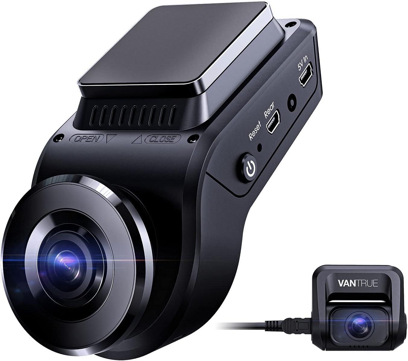 Vantrue S1 4K Hidden Dash Camera $129.99 Coupon