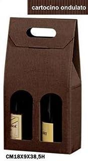 Beauty Cart Scatole da 3 Bottiglie stese con divisori in conf da 10 Pezzi