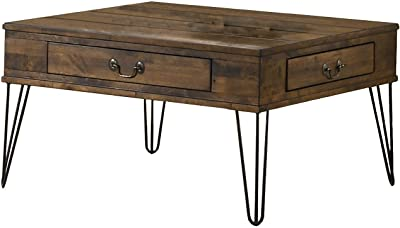Best Quality Furniture Coffee Table, Rustic Oak