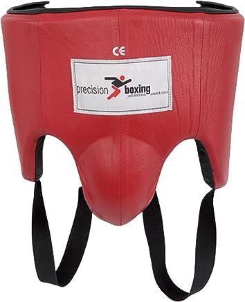 Neu Precision Training Boxen Klettverschluss Leder Magen Schutz Abdominal Guard B00DYD1KLS     Quality First