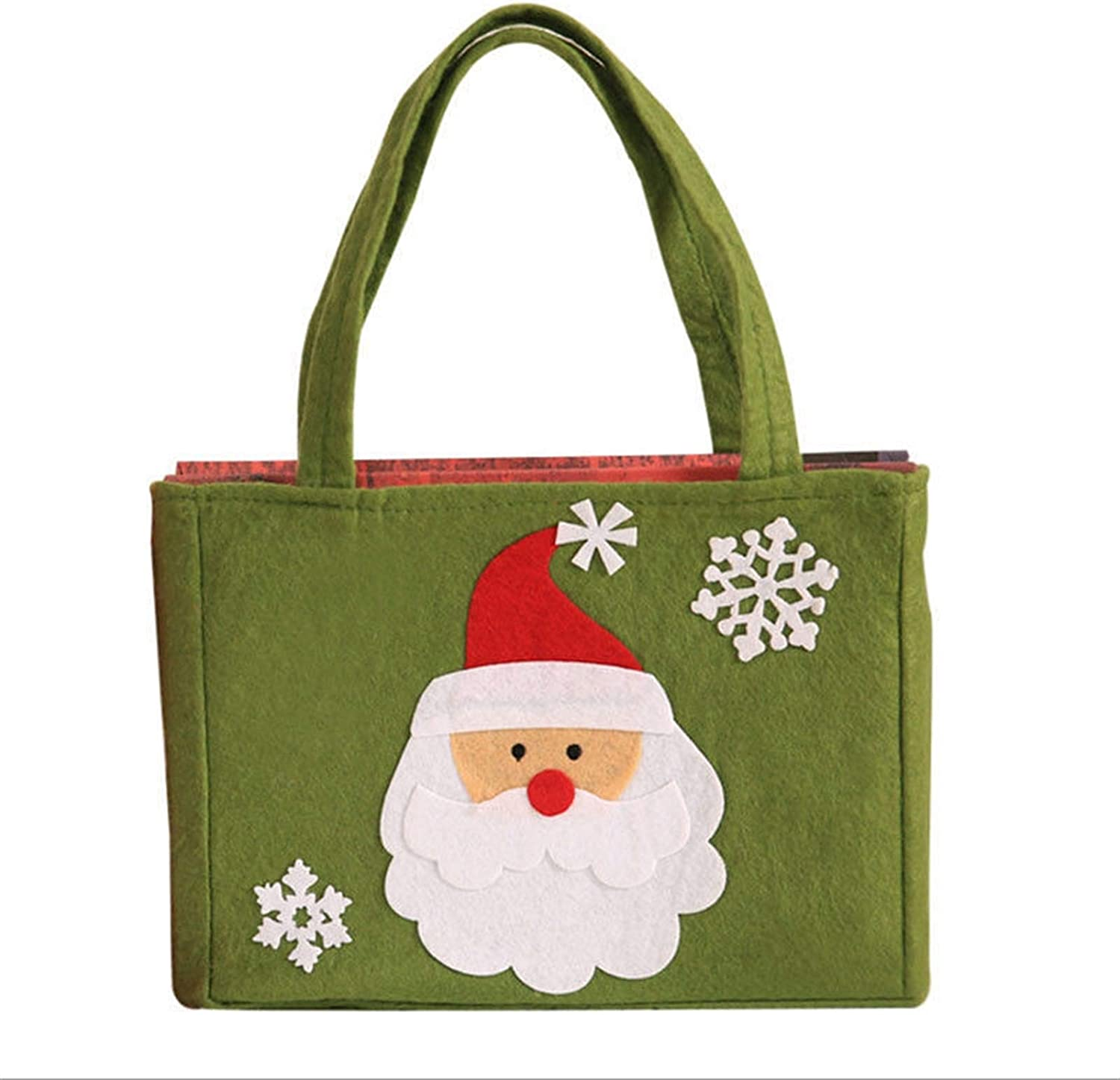 JZYZSNLB 5 ☆ popular Bag Cute Santa Recommended Claus Snowman Cookie Gift Pac Bags Candy
