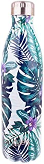 NEW OASIS DRINK BOTTLE 750ml Double Wall Insulated Thermal Hot Cold TROPICAL PARADISE