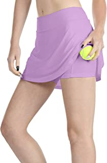Athletic Skirts for Women - Workout Running Golf Tennis Skort with Pockets