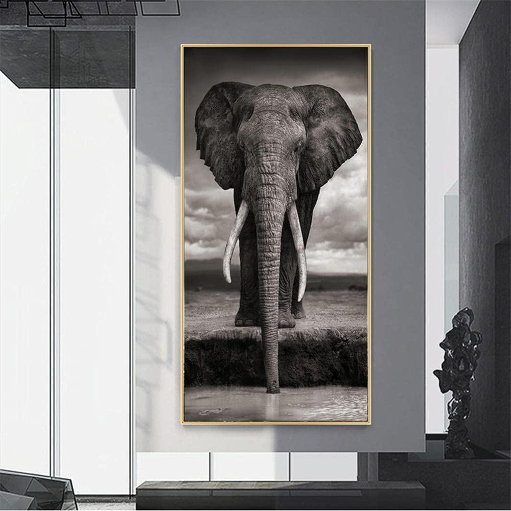 DIY 5D Diamond Painting by Number Inventory cleanup selling sale Max 66% OFF Kits Full Elephant Drill Diamo