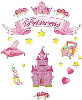 (butterflies) - Main Street Wall Creations Jumbo Stickers - Princess