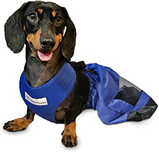 Walkin' Drag Bag Made of Durable Nylon for Paralyzed Pets to Protect Chest and Limbs, Breathable and Comfortable