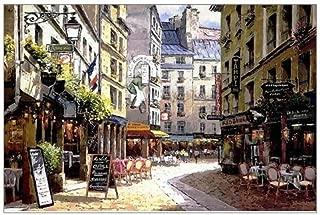 Best paris street cafe paintings Reviews
