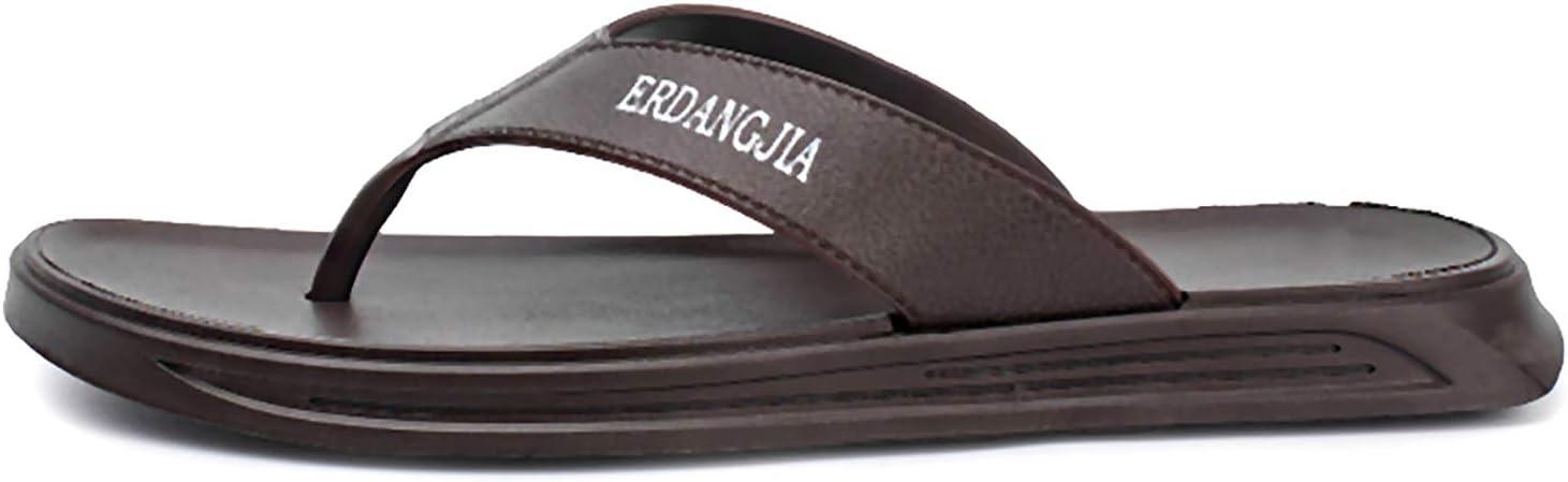JETTINGBUY Men Flip Flops Men Slippers Sandals Indoor and Outdoor Beach Flip Flop