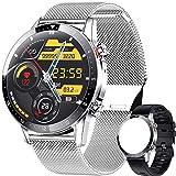 ieverda Smartwatch, Reloj Inteligente Impermeable 67 con Pantalla Táctil Completa, Pulsómetro, Monitor de Sueño, 10 Modos de Deportes, Reloj Deportivo Hombre Mujer para iOS y Android