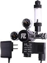 Product Name: FZONE Aquarium CO2 Regulator DC Solenoid Mini Dual Gauge Display with..