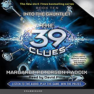 The 39 Clues, Book 10 audiobook cover art