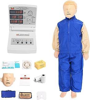 CPR-cardiopulmonale reanimatiemodel Kinderen, medische kunstmatige ademhaling EHBO-trainingsmodel onderwijs dummy met feed...