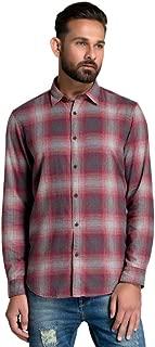 ID Men Red Slim Fit Shirt