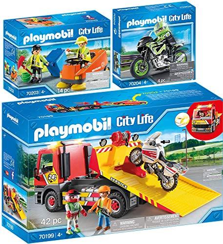 PLAYMOBIL 3er Set