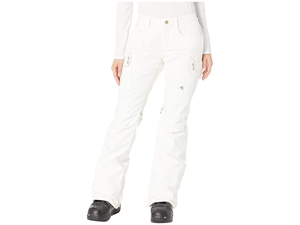 Burton Gloria Insulated Pants (Stout White) Women