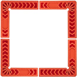"""Positionnement des carrés à 90 degrés 4"""", 4 Pcs Pl"""