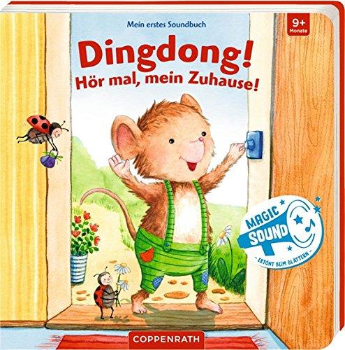 Mein erstes Soundbuch: Dingdong! Hör mal, mein Zuhause!