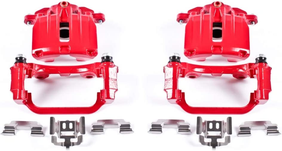 New popularity Power Stop S4726 Performance Powder Coated Caliper Brake Max 79% OFF For Set