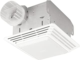 Broan 678 Ventilation Fan and Light Combination, 50 CFM and 2.5-Sones (Renewed)