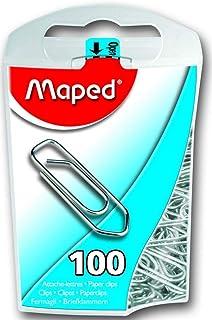 مابيد، مشبك ورق معدني بغلاف بلاستيكي قابل لاعادة الاستخدام، لون فضي [MD-320011ZC]
