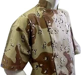 Chefskin Executive Chef Jacket Camouflage Short Sleeve Twill