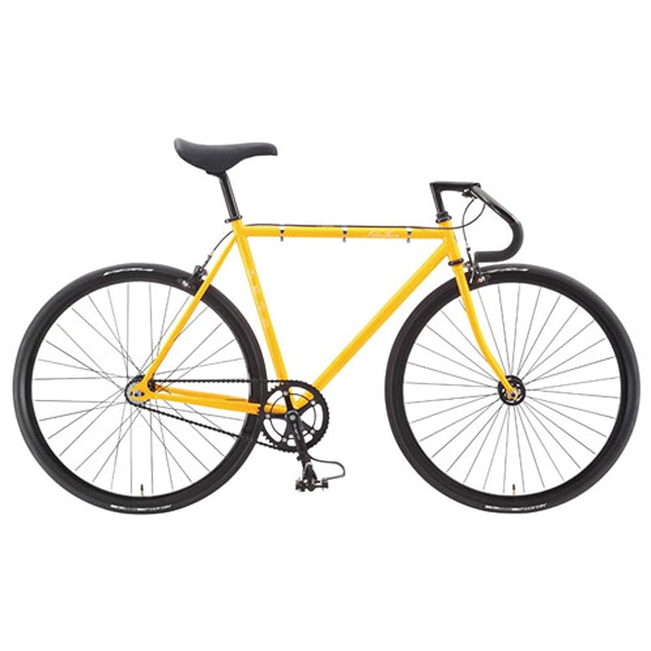 故意のくつろぐ抽選フジ FUJI 2015 自転車 FEATHER (SINGLE SPEED) MUSTARD