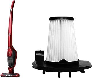 AEG CX7 Flexibility Animal Aspiradora Escoba 2 en 1 con Bater?a de Litio TurboPower HD Especial Pelo de Mascota, Rojo Chile + AEG AEF150 Pack de 2 Filtros Extra