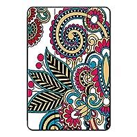 Fuleadture iPad 10.2 2019/iPad ケース,全面保護型 キズ防止 三段角度調節 耐摩耗性 PU + PC 三つ折 クリア バックカバー iPad 10.2 2019/iPad Case-ad833