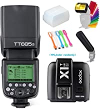 Godox TT685S TTL High Speed Sync 1/8000s 2.4GHz GN60 Camera Flash Speedlite Light with Godox X1T-S Wireless Trigger Transmitter Compatible for Sony Cameras