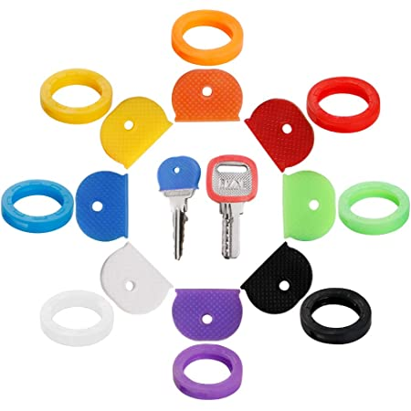 Details about  /32X Bright Colors Hollow Silicone Key Cap Covers Topper Keyring GTPO/_ EW laFLY