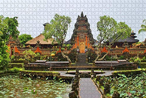Jigsaw Puzzle for Adults Indonesia Denpasar Bali Puzzle 1000 Piece Travel Souvenir