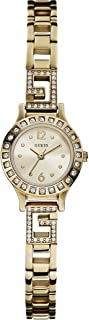 Guess Women's Quartz Watch with Analogue Display and Stainless Steel Bracelet