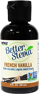 French Vanilla Stevia Liquid Now Foods 2 oz Liquid